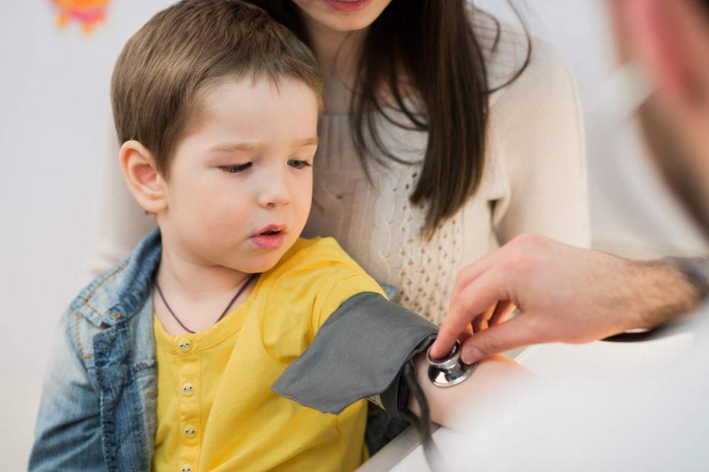 علت فشار خون بالا در کودکان