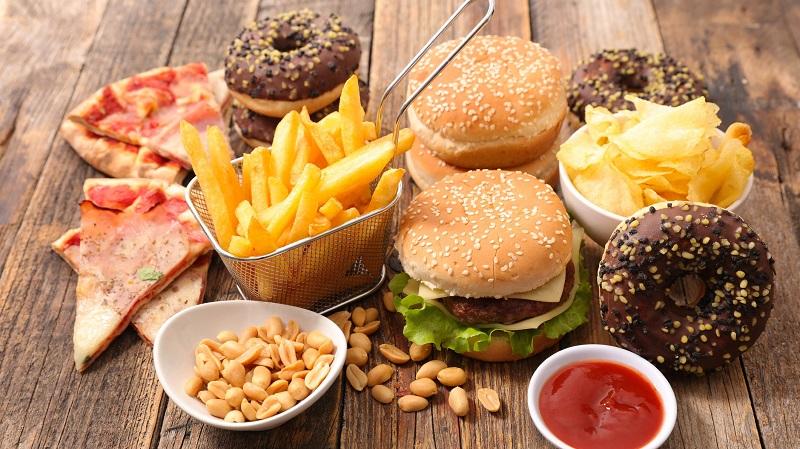 مصرف کمتر غذاهای فرآوری شده