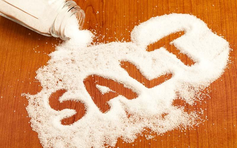 تاثیر نمک بر فشارخون