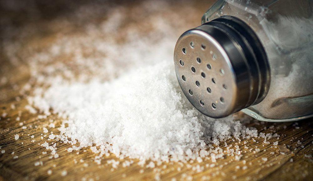 مصرف نمک
