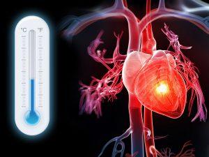 تاثیر هوای سرد بر مشکلات قلبی