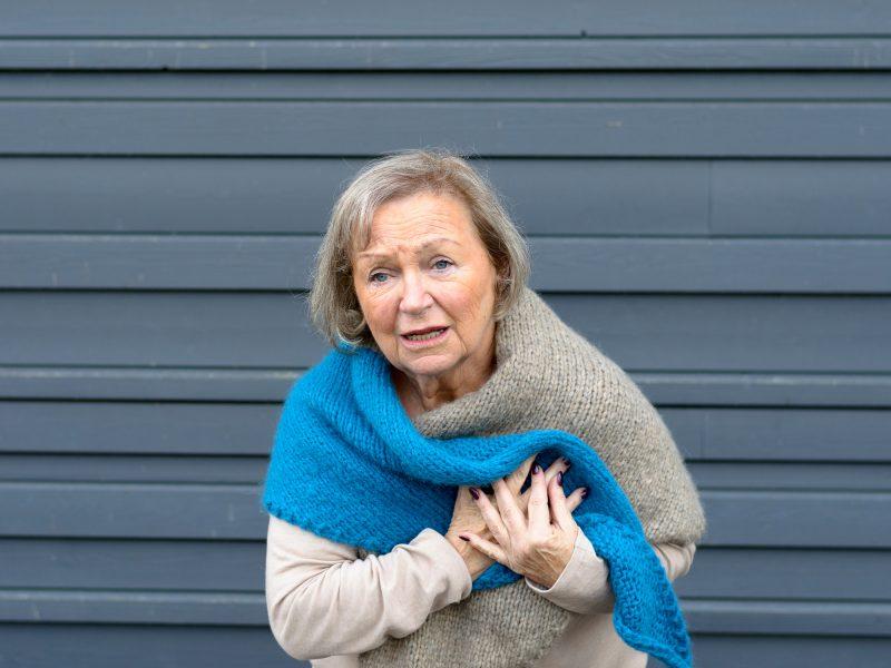 شیوع بیماری های قلبی در سرما
