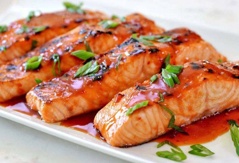 Salmon and Omega 3 consumption
