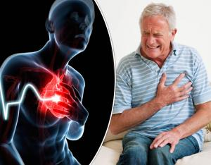 What is the cause of heartbeat ?