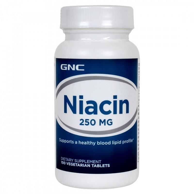 Niacin (nicotinic acid)