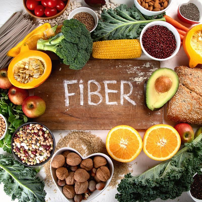 غذاهای حاوی فیبر