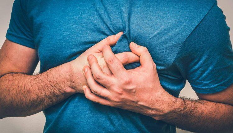 درد جناغ سینه یا قفسه سینه
