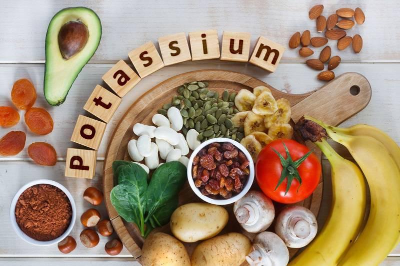 غذاهای حاوی پتاسیم برای بهبود واریس