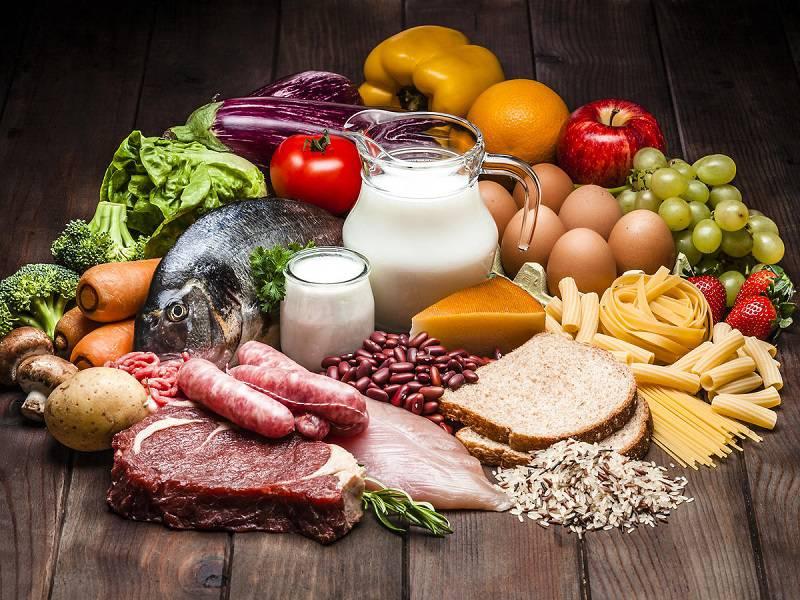 مصرف رژیم غذایی سالم