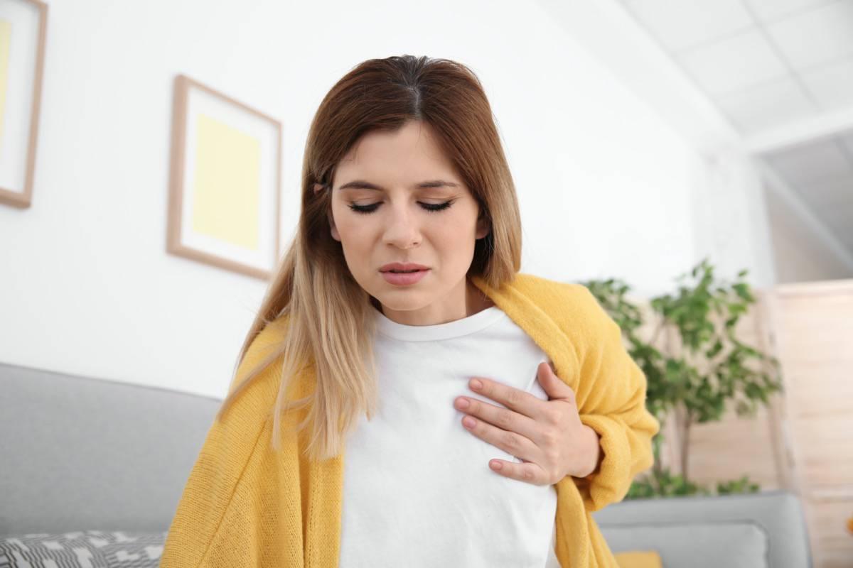 علت درد قفسه سینه و پشت با هم