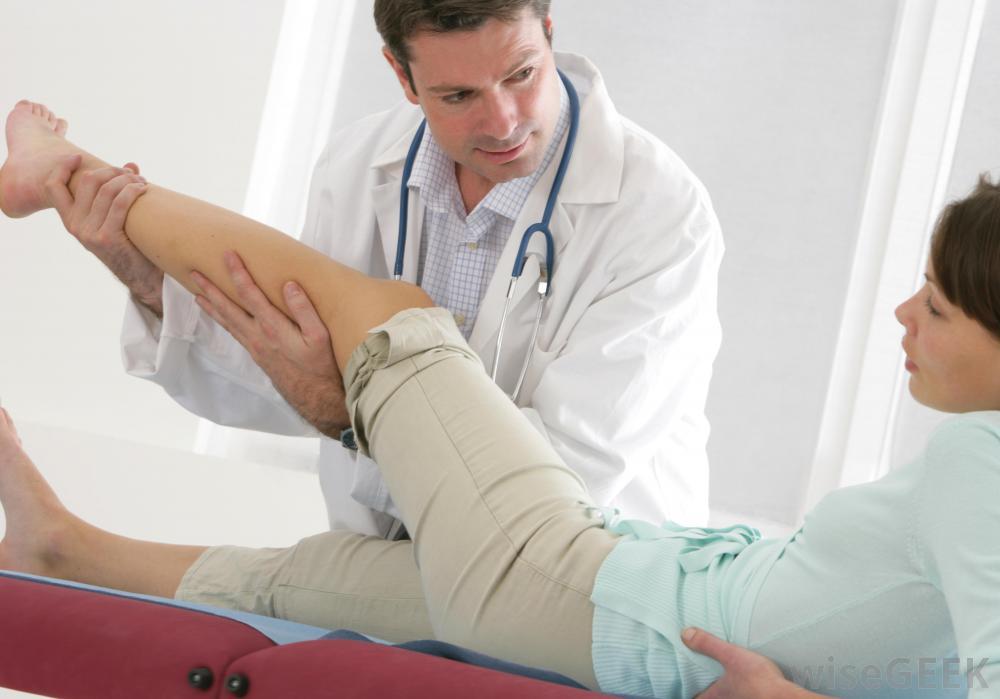 تشخیص درد ساق پا
