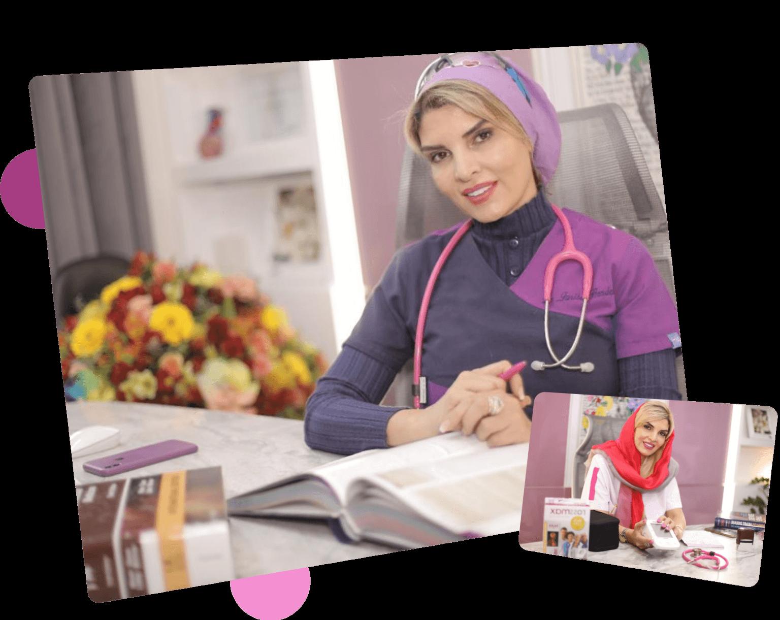 دکتر فریبا هندسی متخصص قلب